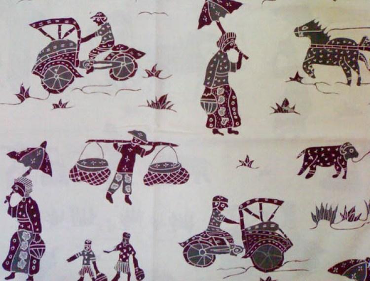 Gambar batik kompeni