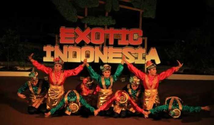 Gambar setting panggung