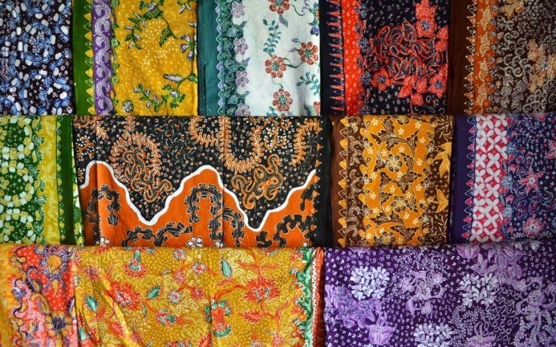 Gambar motif batik lasem
