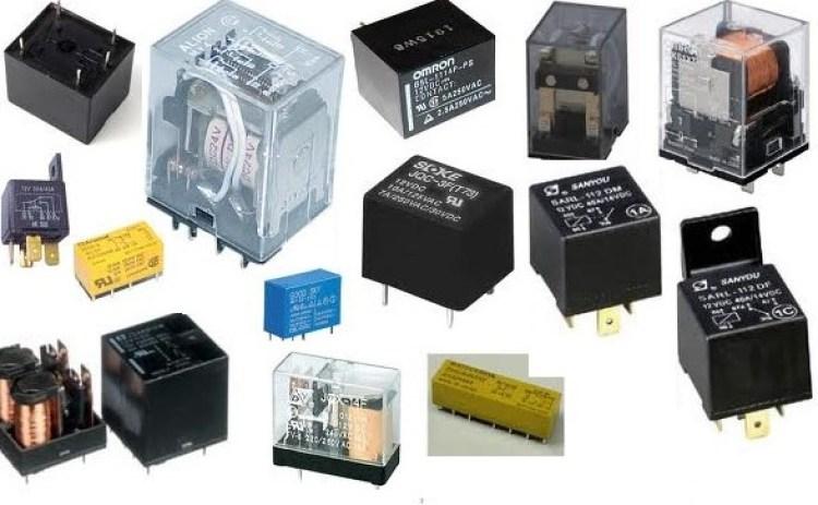 Gambar macam-macam komponen relay