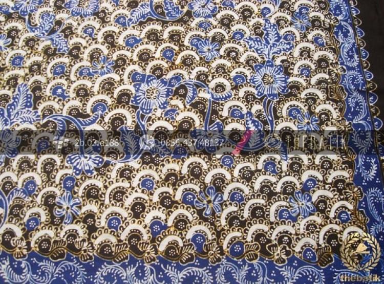 Gambar motif gunung ringgit batik lasem