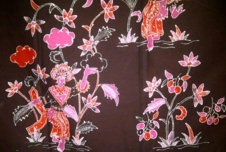 Gambar motif penari yapong