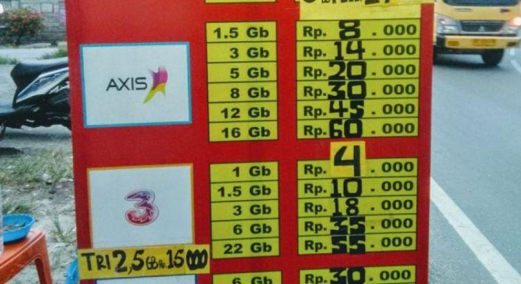 Gambar ide bisnis yang menjanjikan jualan paket data