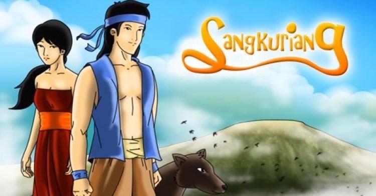 Gambar grafis Sangkuriang