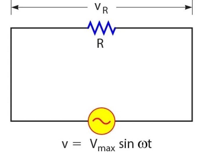 Contoh gambar rangkaian resistor