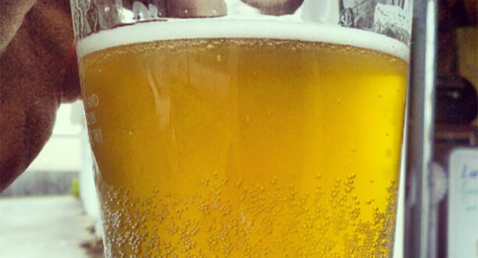 Yooper's fizzy yellow beer recipe