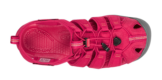 pink Keen Clearwater CNX Sandals; Screen Capture by Snagit