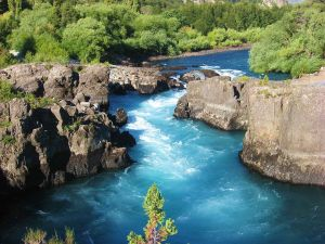 An incredible river with scenery that matches the excitement of the white water rafting.