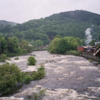 Whitewater Tubing in Llangollen