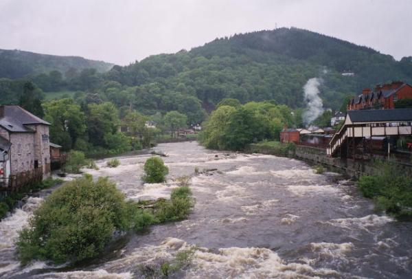Llangollen River Dee