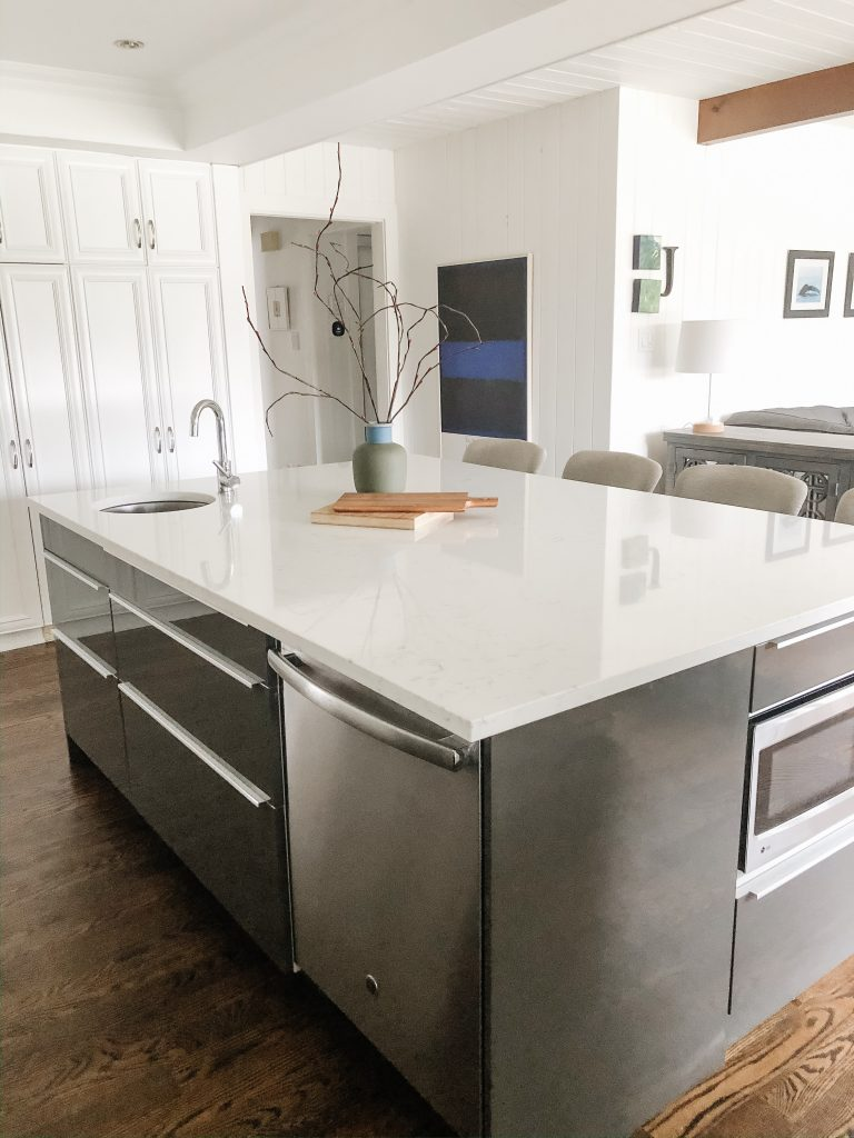 an ikea kitchen island that functions