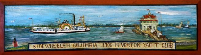 Bay Ruff Sidewheeler Columbia 1906 - 2004