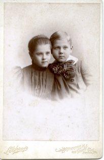 Alice C. Taylor, 5yrs; Howard G. Taylor, Jr. 5yrs, 9mos Lothrop photo
