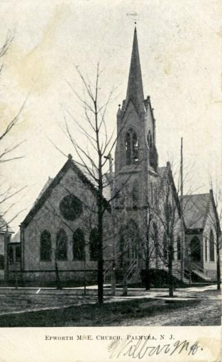 Epworth M.E. Church, Palmyra, NJ c.1907