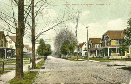 Garfield Ave., looking West, Palmyra, NJ