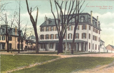 Lawn House, Bank Avenue, Riverton, NJ