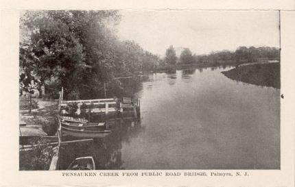 Pensauken Creek from Public Road Bridge, Palmyra, N.J.