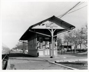 Railroad Station, Palmyra, N.J. 1950s