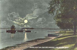 Moonlight on the Delaware, Palmyra, NJ