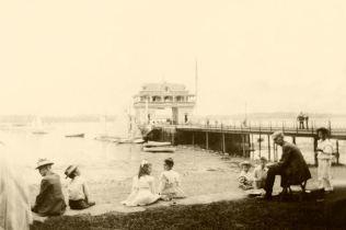 Riverton Yacht Club - unknown year - restored