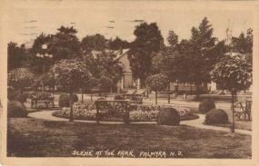 Scene at the Park, Palmyra, N.J. c.1922