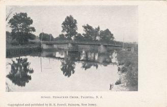 Sunset, Pensauken Creek, Palmyra, N.J