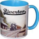 train station mug