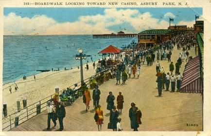 Boardwalk Looking Toward New Casino, Asbury Park, NJ
