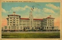 The New Monterey Hotel, Asbury Park, NJ
