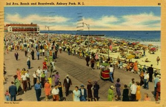 3rd Ave., Beach and Boardwalk, Asbury Park, NJ