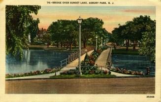 Bridge Over Sunset Lake, Asbury Park, NJ