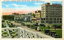 7th Avenue, Showing Asbury Carlton Hotel, Asbury Park, NJ
