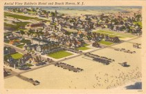 Aerial View Baldwin Hotel and Beach Haven, NJ