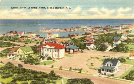 Aerial View Looking North, Stone Harbor, NJ