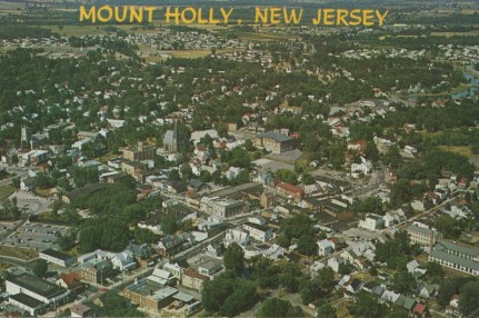 Aerial View, Mt. Holly. NJ