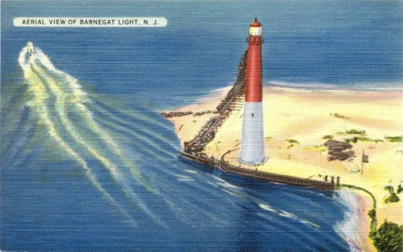 Aerial View of Barnegat Light, NJ