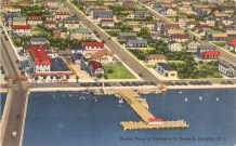 Aerial View of Entrance to Seaside Heights, NJ