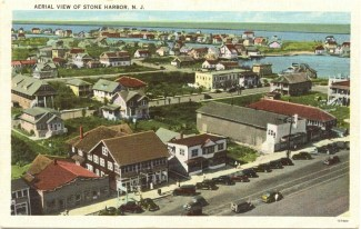 Aerial View of Stone Harbor, NJ