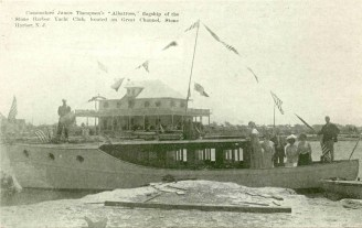 Albatross flagship of Stone Harbor Yacht Club, Stone Harbor, NJ