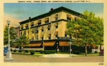 Ansonia Hotel, Corner Grand and Summerfield Aves., Asbury Park, NJ