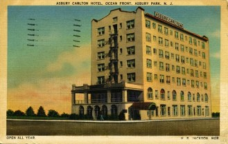 Asbury Carlton Hotel, Ocean Front, Asbury Park, NJ