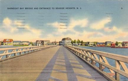 Barnegat Bay Bridge and Entrance to Seaside Heights, NJ
