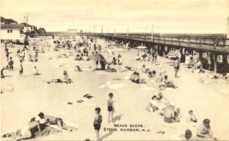 Beach Scene, Stone Harbor, NJ