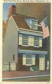 Betsy Ross Flag House, Philadelphia, PA 1941