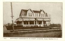 Bittner's Residence on First Ave., Stone Harbor, NJ