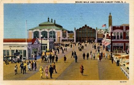 Boardwalk and Casino, Asbury Park, NJ