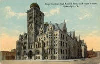 Boys' Central High School, Broad and Green Streets, Philadelphia, PA