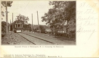 Crossing the Rancocas, Hainesport, NJ