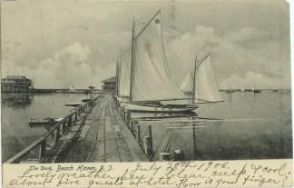 Dock, Beach Haven, NJ 1906