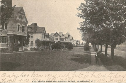 East Second Street and Stanwick Avenue, Moorestown, NJ